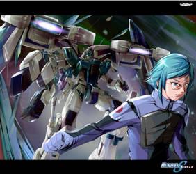 Gundam SEED A-STAR - KASANAT by csy5150