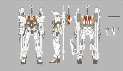 Gundam SEED A-STAR - KLOUD TRIAS by csy5150