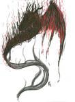 Fire dragon tattoo design