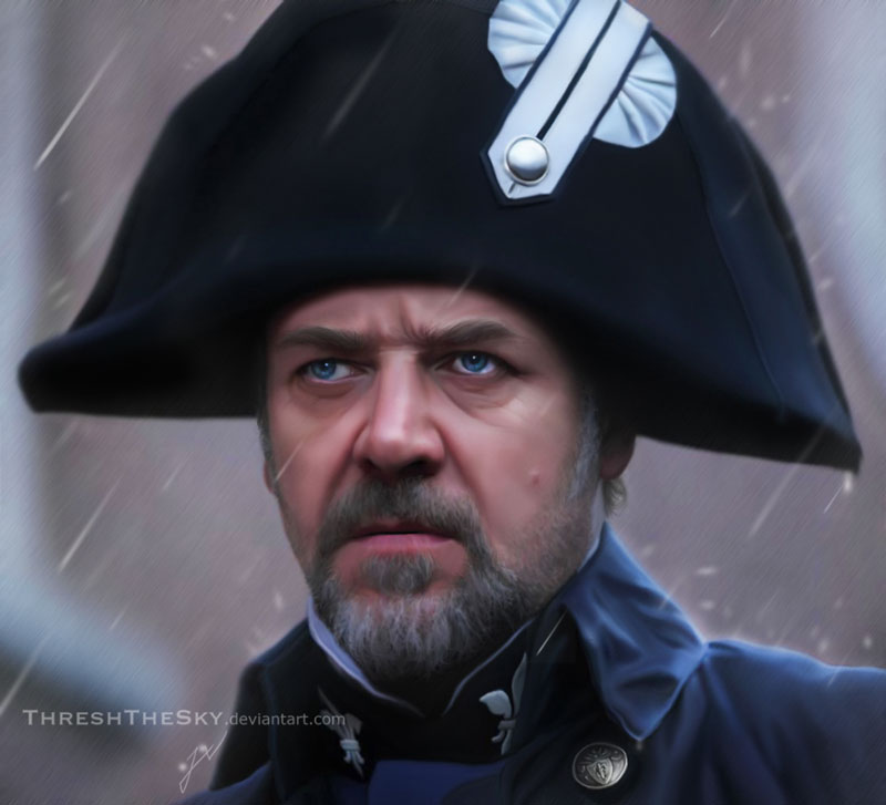Les Miserables 2012: Javert by ThreshTheSky
