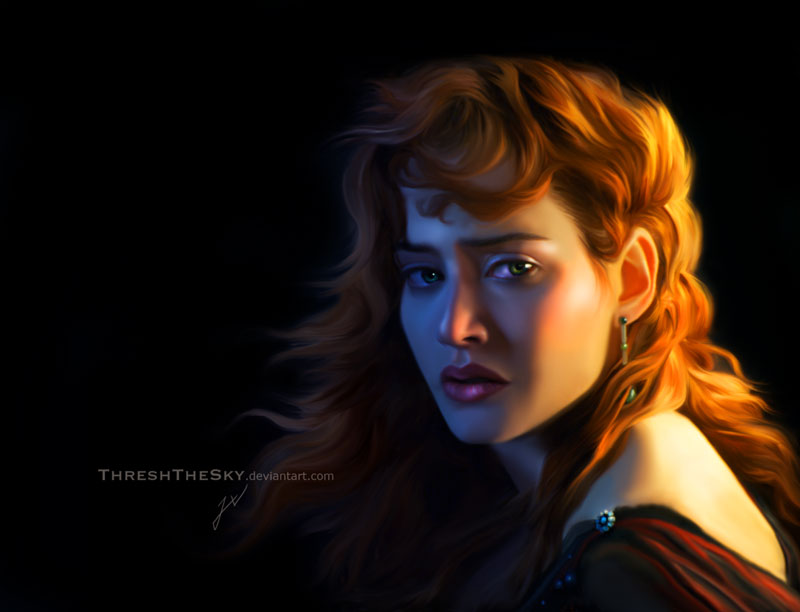 Titanic: Rose Dawson by ThreshTheSky