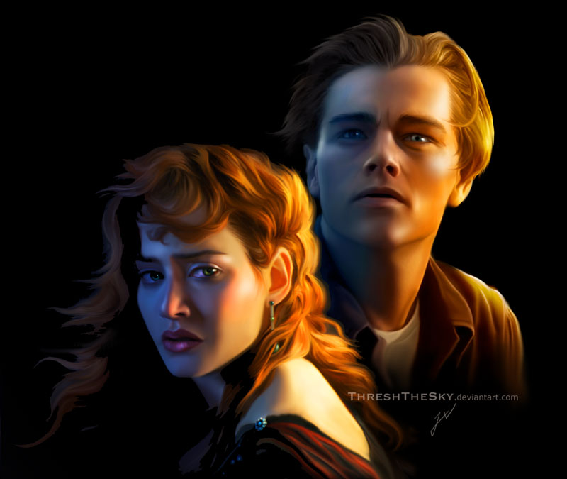 Titanic rose and jack by threshthesky on deviantart - Jack and rose pics ...