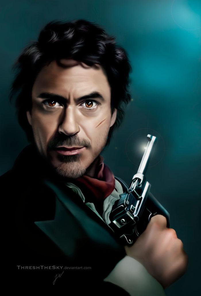 Game of Shadows: Sherlock Holmes by ThreshTheSky