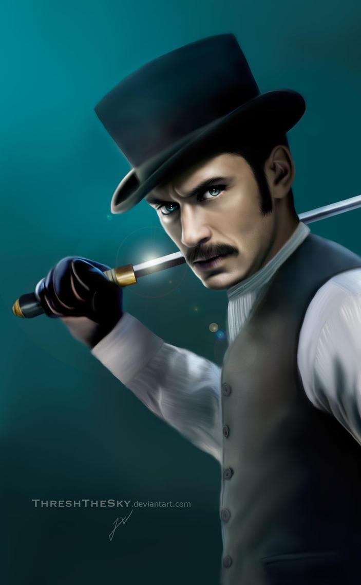 Game of Shadows: John Watson by ThreshTheSky