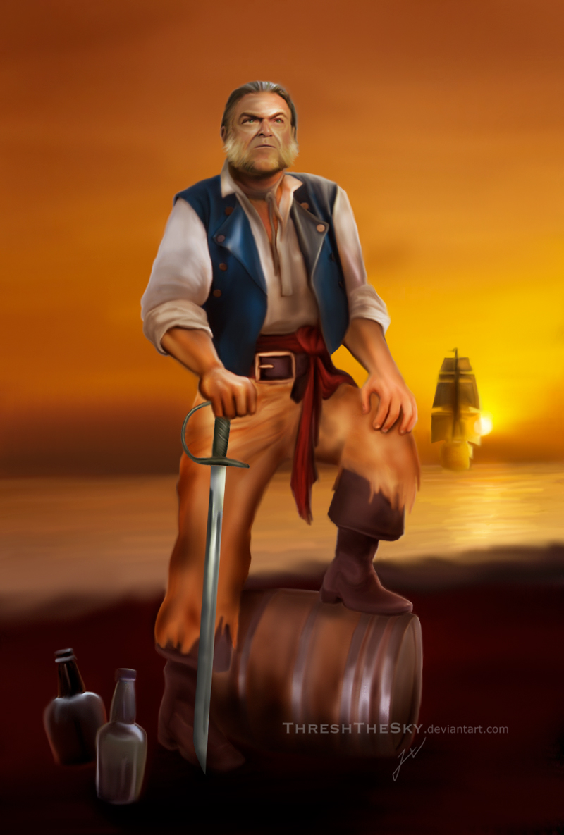 Pirates of the Caribbean: Captain of the Rum by ThreshTheSky