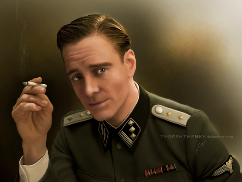 Inglorious Basterds: Lieutenant Hicox By ThreshTheSky On
