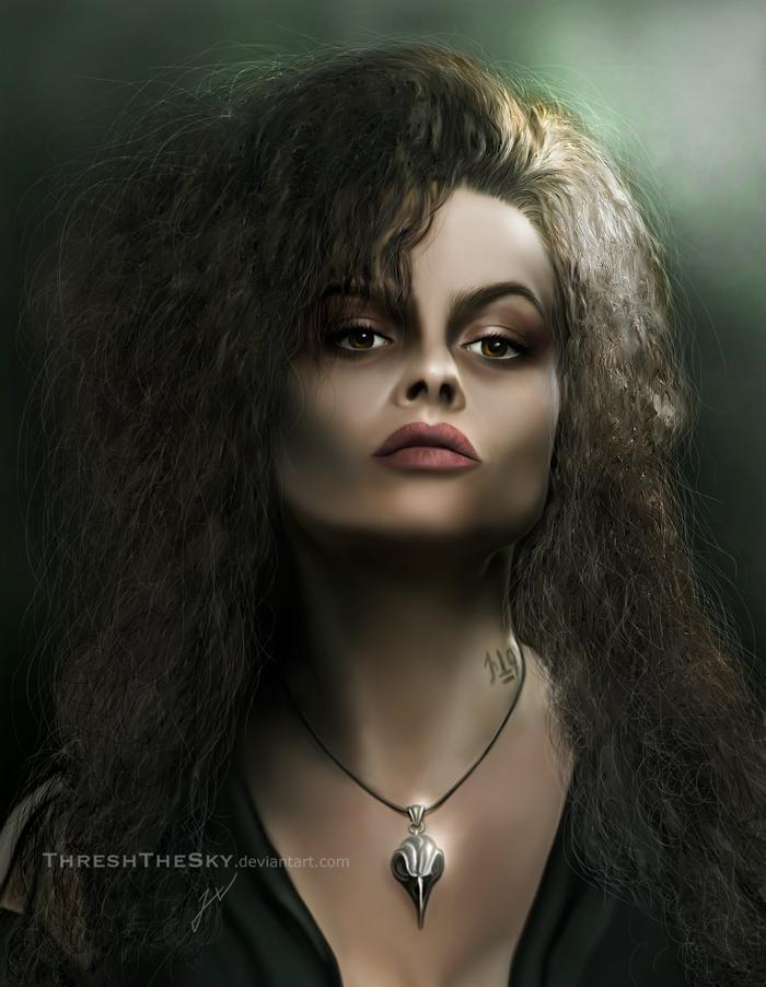 Harry Potter: Bellatrix Lestrange by ThreshTheSky