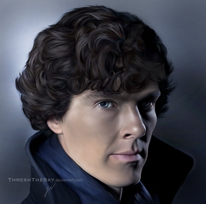 Sherlock BBC by ThreshTheSky