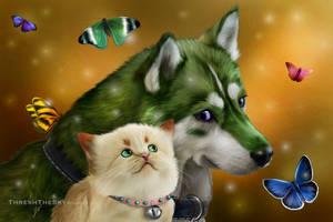 Mirera and Gage by ThreshTheSky