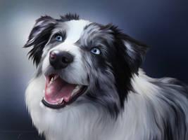 True Blue Friend by ThreshTheSky
