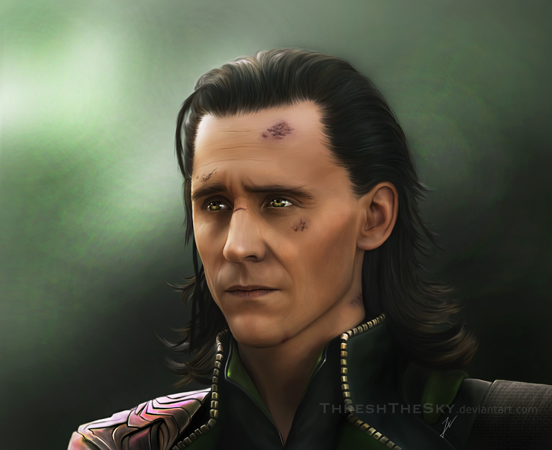 The Avengers: Loki by ThreshTheSky