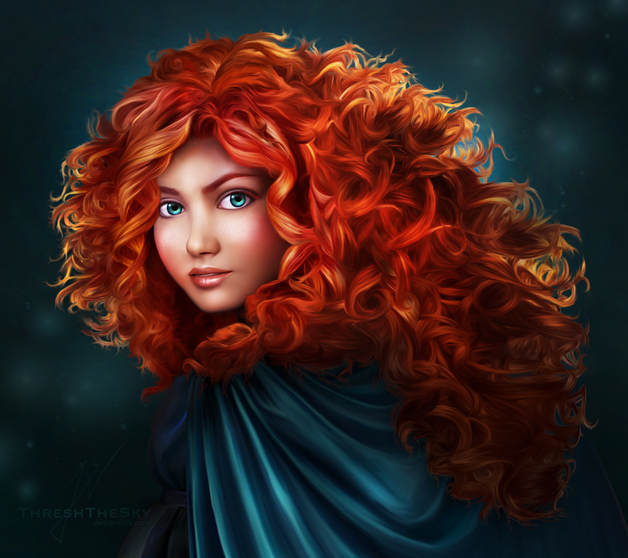This is a picture of Remarkable Pictures of Merida From Brave