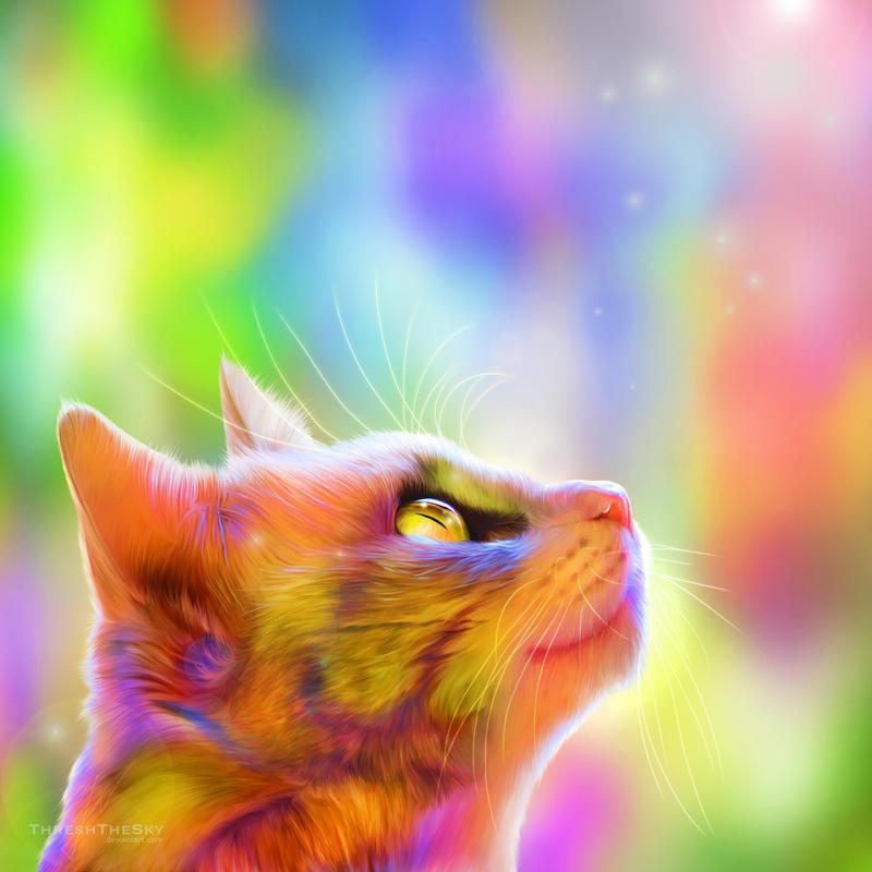 Elysian Feline by ThreshTheSky