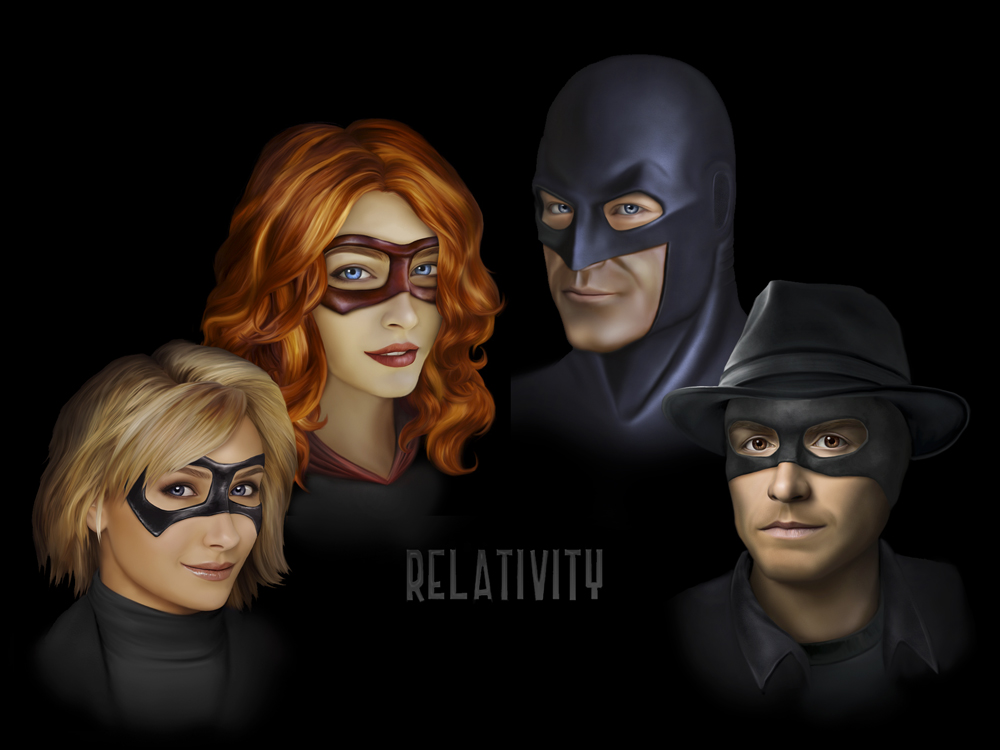 Relativity Heroes by ThreshTheSky