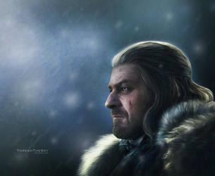 Ned Stark by ThreshTheSky
