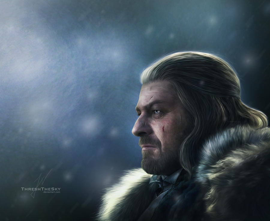 Ned Stark by ThreshTheSky