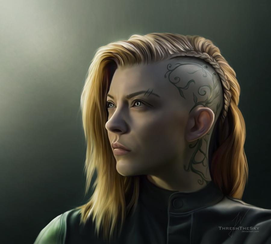 Cressida (Hunger Games: Mockingjay) by ThreshTheSky on