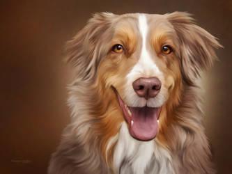 Caramel Canine by ThreshTheSky