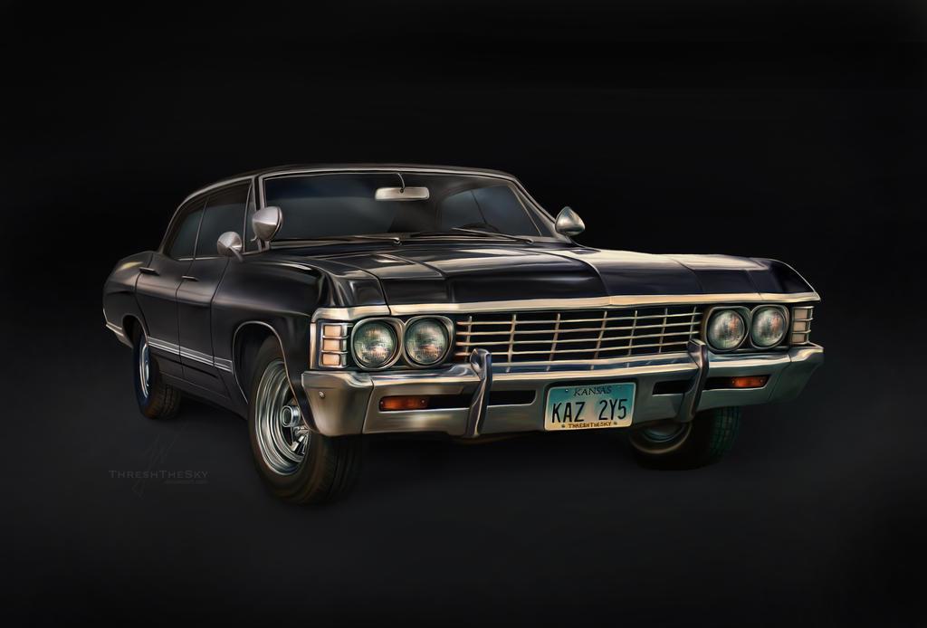 '67 Chevy Impala (digital painting)