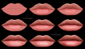 Lips (Painting Steps)
