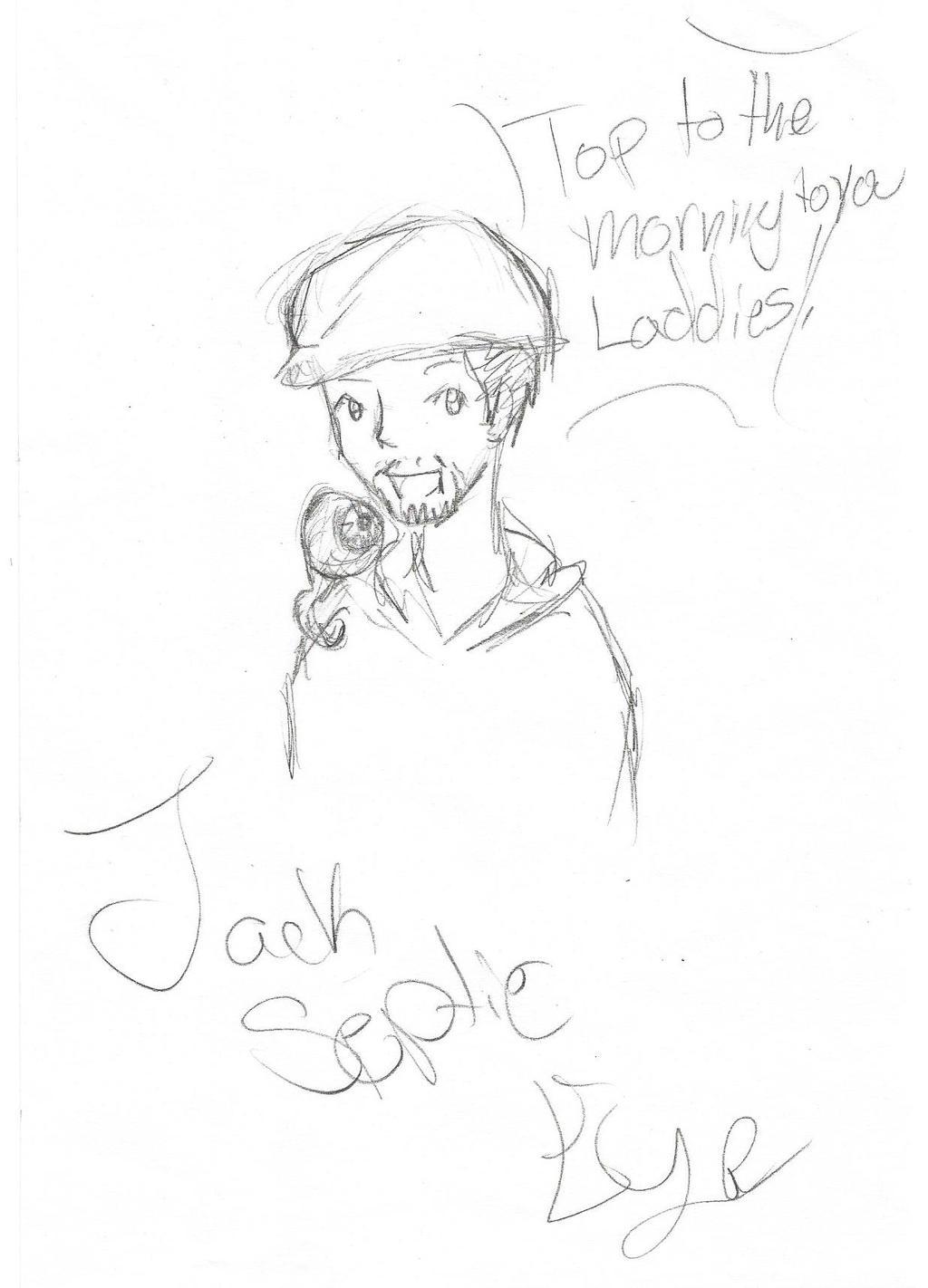 First Jacksepticeye Drawing By Demonicmutt