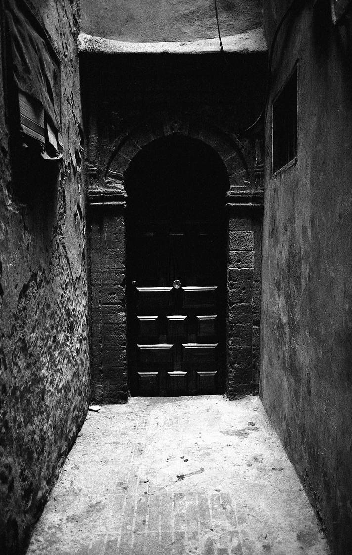 A mysterious door by damiengorson ... & A mysterious door by damiengorson on DeviantArt