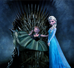 Anna and Elsa: Game of Thrones