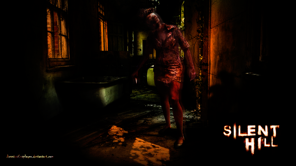 Cosplay - Silent Hill Nurse Wallpaper by ArantxaCosplayer