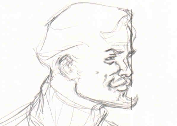 M J Sketch Images Oliver Queen - sketch ...