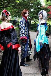 Versailles in Kimono by michiiyuki