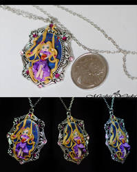 I See the Light - Rapunzel Cameo details by michiiyuki