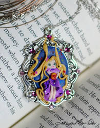 I See the Light - Rapunzel Cameo Necklace