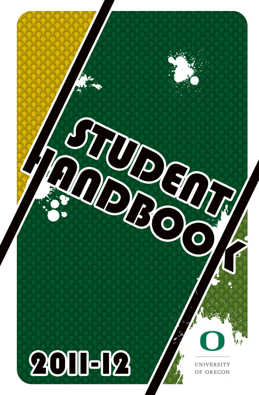 Hand Book Cover Design : Uo student handbook by persecution on deviantart