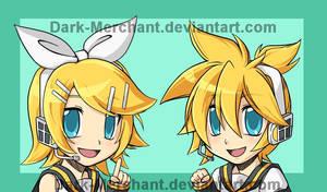 Vocaloid Rin and Len print
