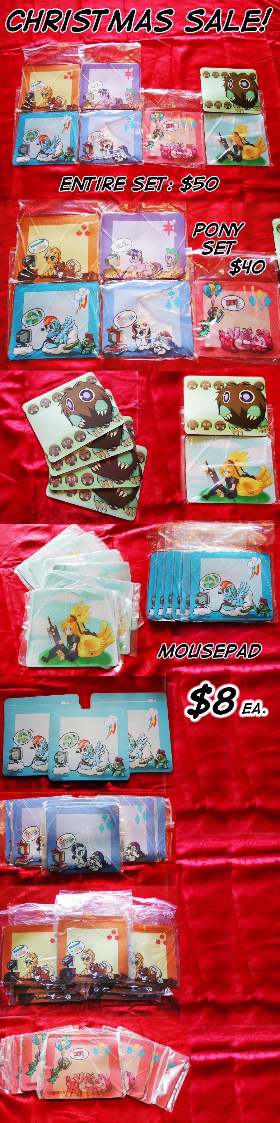 Mega Mousepad Christmas Sale!