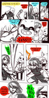 Failed Genocide! Undertale Gauntlet Throne Pt 3 by KuraiDraws