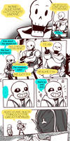 Failed Genocide! Undertale Gauntlet Throne Pt 5 by KuraiDraws