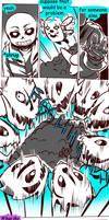 Failed Genocide! Undertale Gauntlet Throne Pt 8 by KuraiDraws