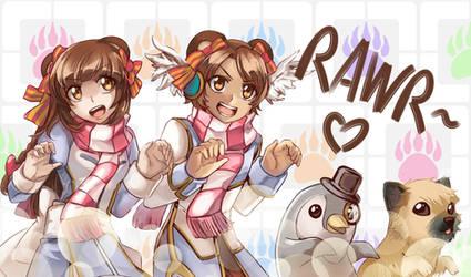 RO rawr~ by KuraiDraws