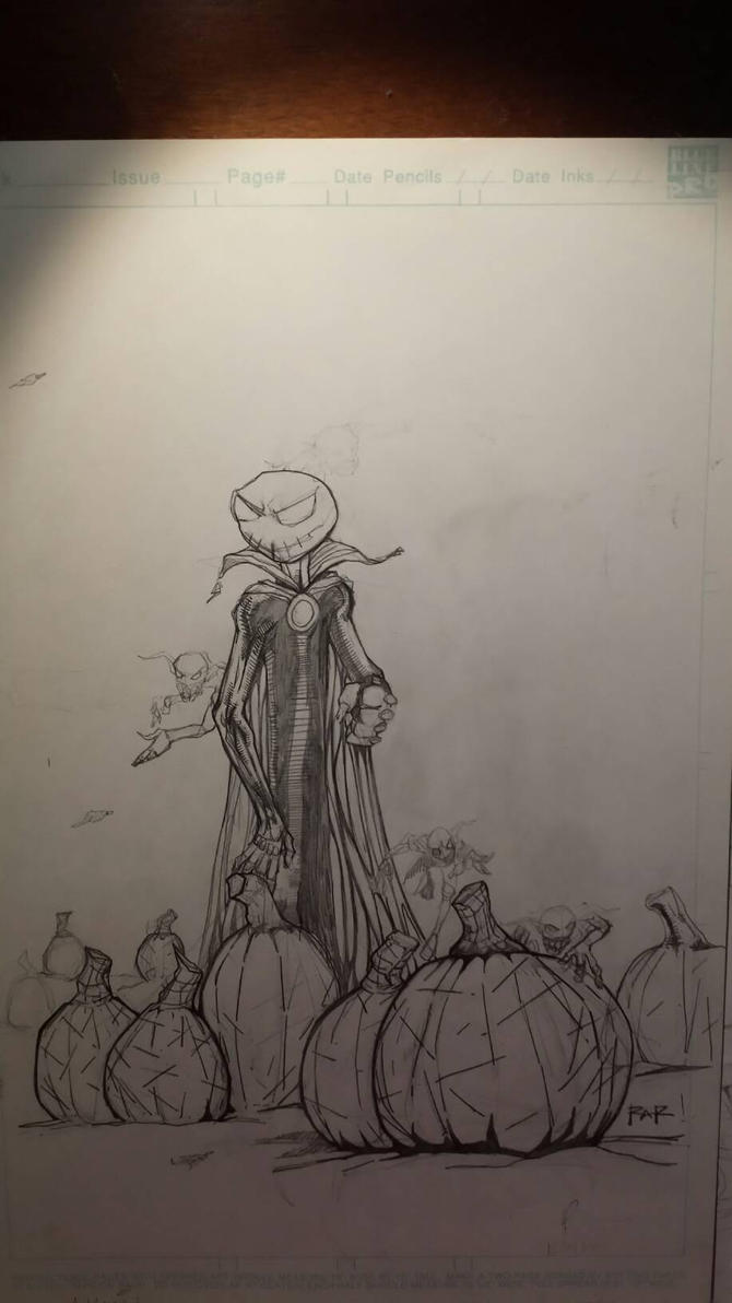 Jack Skellington by RayARamirez