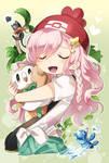 Pokemon Oc trainer Fan art