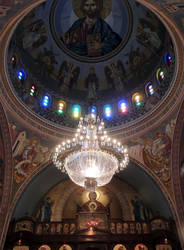Inside of the Holy Trinity Orthodox Cathedral