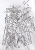 Strike Freedom Gundam by KankurouOfTheSand