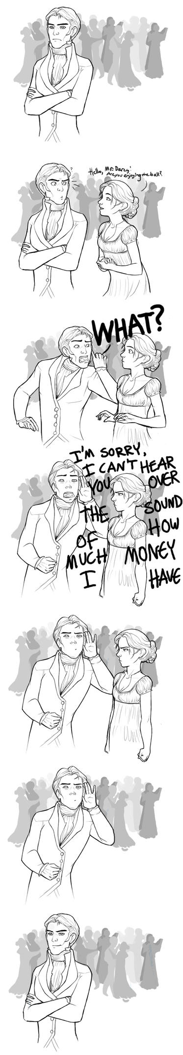 Pride and Prejudice- Mr. Darcy by wegs
