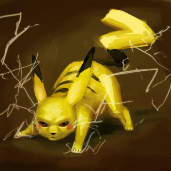 evil pikachu wallpaper - photo #11