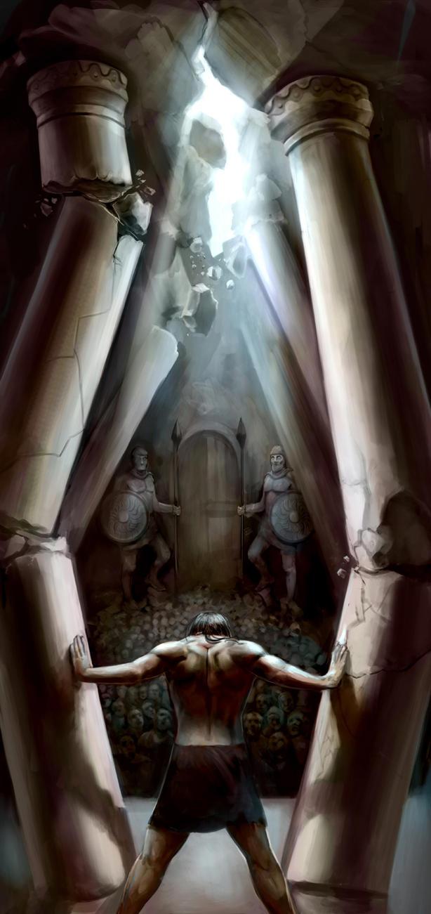 samson-pillars-painting