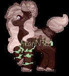 Deer Themed Holo Coffee Pony by A-karii