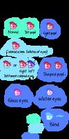 Sea Glass Pony Eye Traits