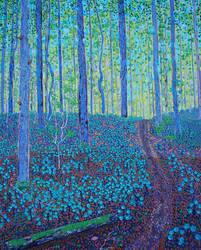 when pine seedlings dream of blue sky by mothandashes