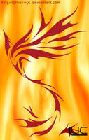 Phoenix Flight - Suzaku by roguephoenix